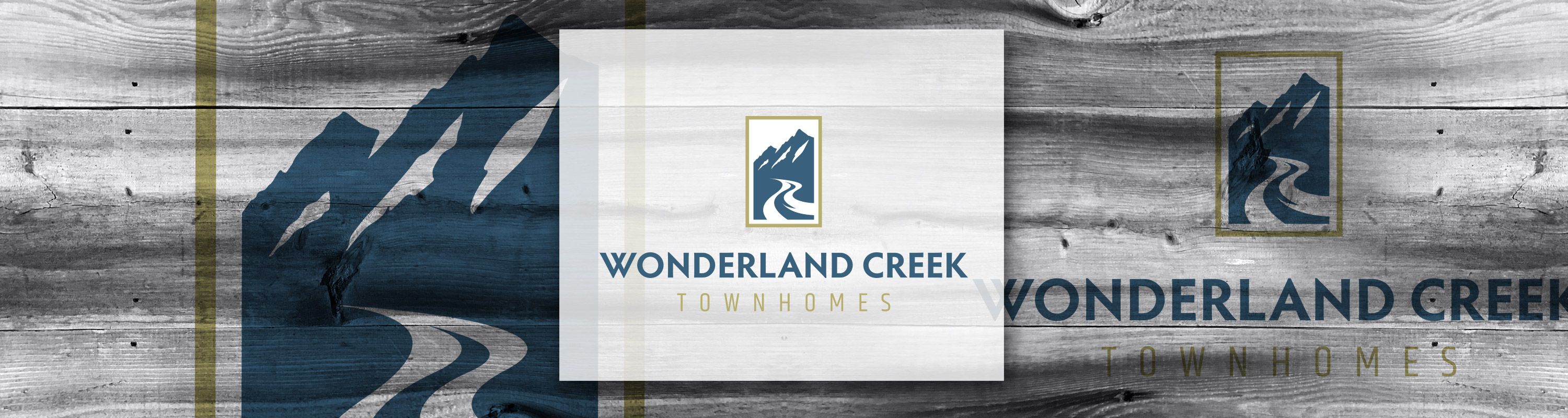 Boulder Logo Design: Wonderland Creek Townhomes